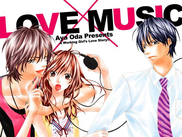 Resultado de imagen de love music manga