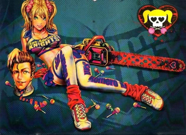 Lollipop Chainsaw artwork