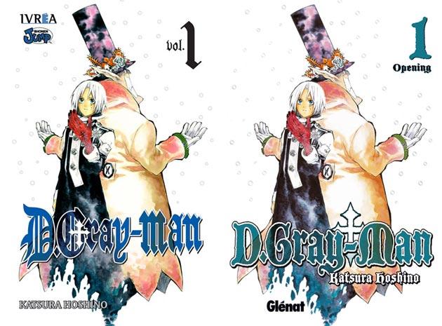 d gray man ivrea Ivrea licencia D.Gray Man en España