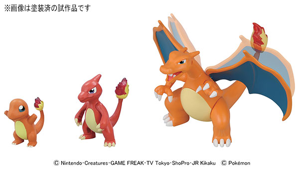 Charizard Evolution Set Figures