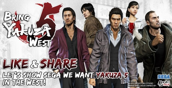 Yakuza 5 occidente