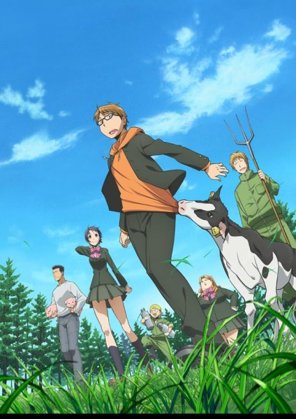 silver spoon anime visual