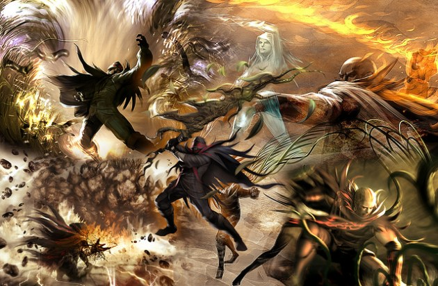 soul sacrifice artwork