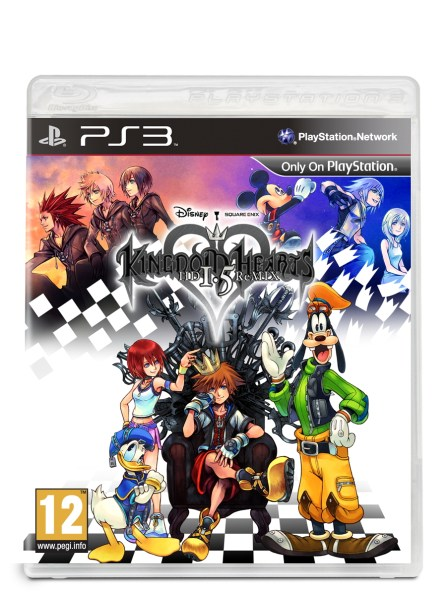 Kingdom Hearts HD 1 5 ReMIX caratula