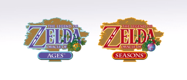 The Legend of Zelda Oracle of Ages and Seasons 3DS logo