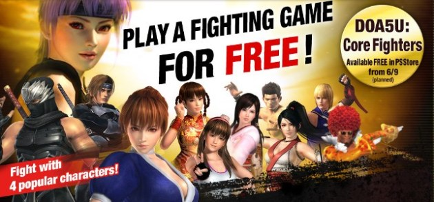 Dead or Alive 5 Ultimate Core Fighters