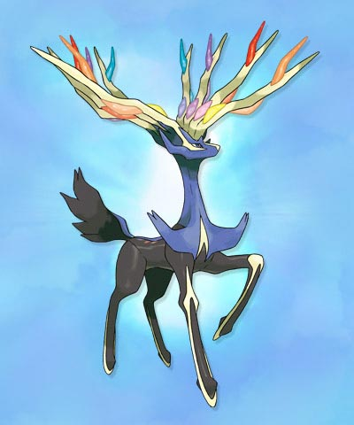 Pokemon X Y Xerneas 00