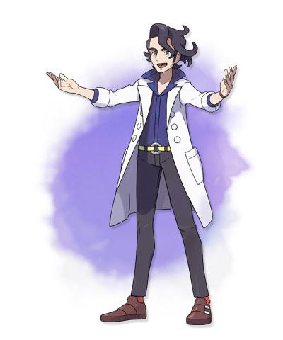 Profesor Cipres Pokemon X Y 01