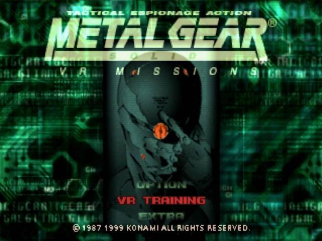 metal gear solid vr missions