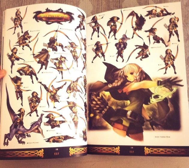 dragons crown artbook