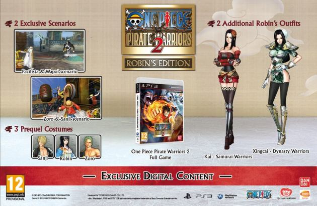 one piece pirate warriors 2 robins edition