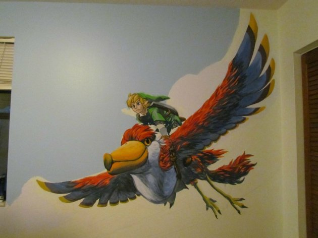 Zelda Skyward Sword pintura 15