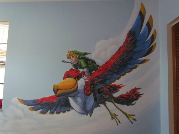 Zelda Skyward Sword pintura 20