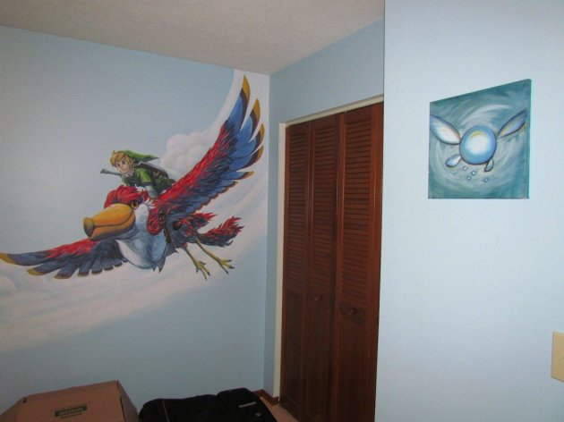 Zelda Skyward Sword pintura 29
