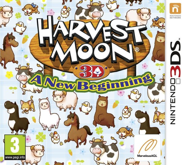 harvest moon 3ds pal cover