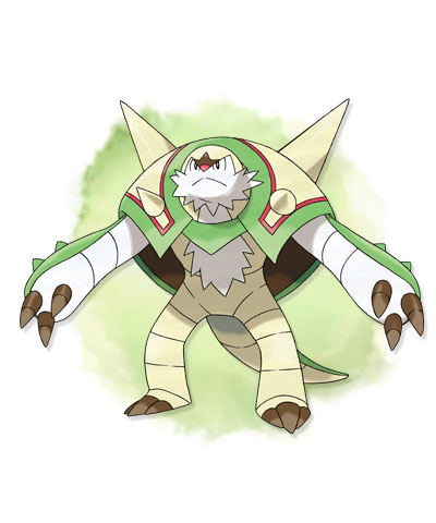 pokemon x chesnaught 01