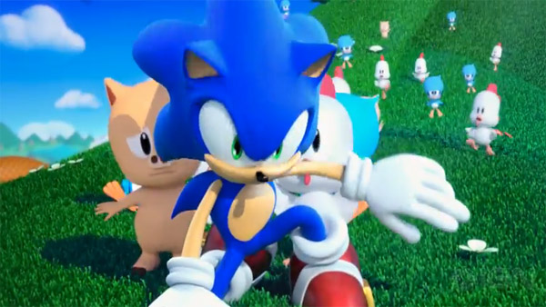 sonic lost world 3ds impresiones