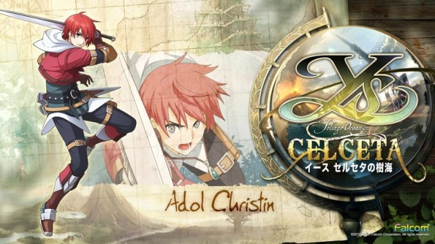 Ys memories of Celceta Adol Christin