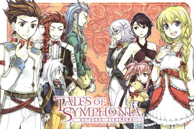 manga tales of symphonia