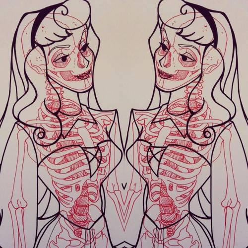 radiografia anime dibujos 06