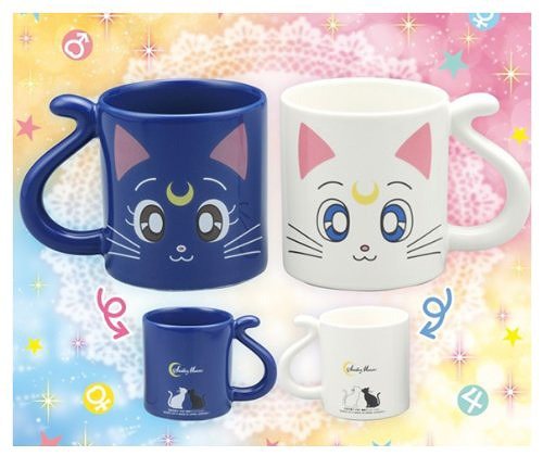 Taza luna artemis sailor moon