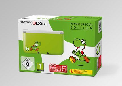 3DS XL Yoshis special edition