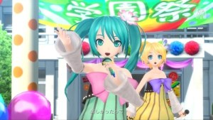 Hatsune Miku Project Diva F 2nd 09