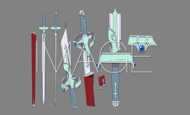 Lambent Light espada Sword Art Online MOVIC 10