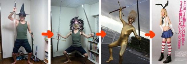 Mel Kishida crazy cosplays