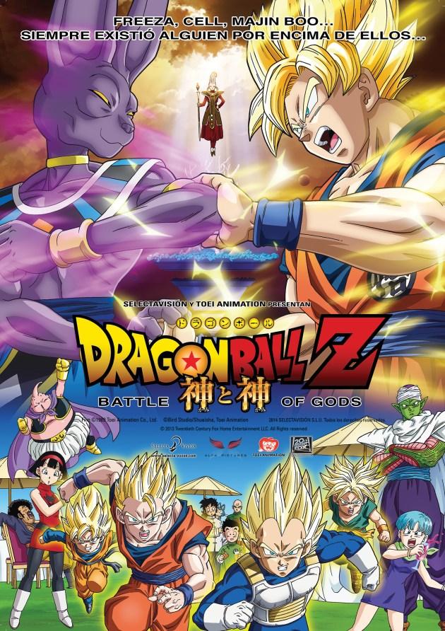Dragon Ball Z Battle of Gods castellano