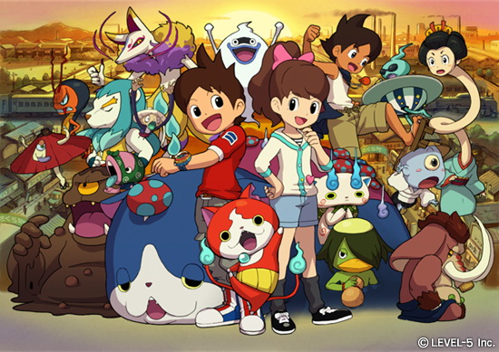 Yo Kai Watch 2 illustration 01