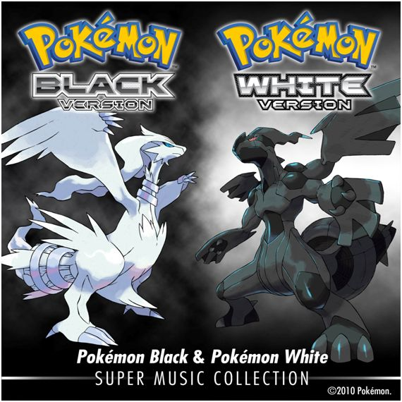 pokemon black white super music collection
