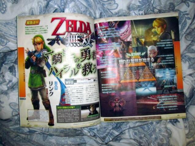 hyrule warriors scan fecha japon