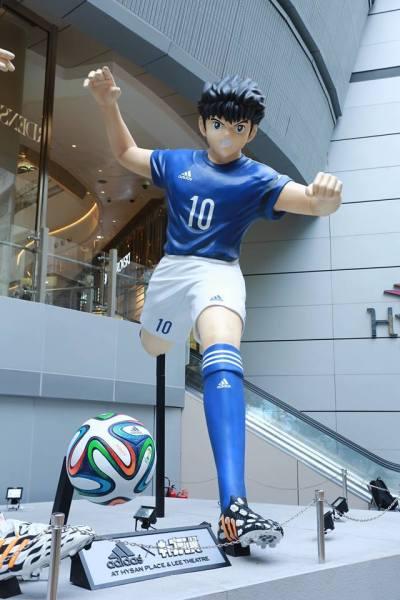 Captain Tsubasa statue 07
