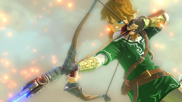 Link fixed legend of zelda wii u