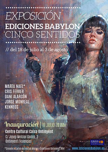 Exposicion Cinco Sentidos Babylon