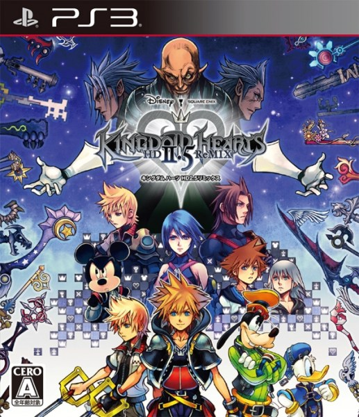 Kingdom Hearts HD 2 5 ReMIX cover JP