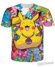 Pikachu_in_Kandiland_Men_s_Basic_T_Mockup
