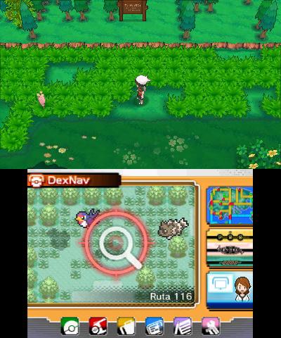 Dexnav Pokemon Rubi Omega Zafiro Alfa 01