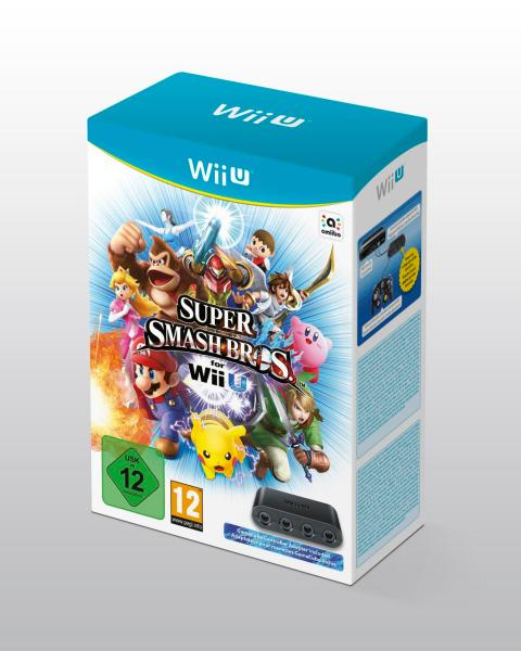 Super Smash Bros Wii U mando gamecube