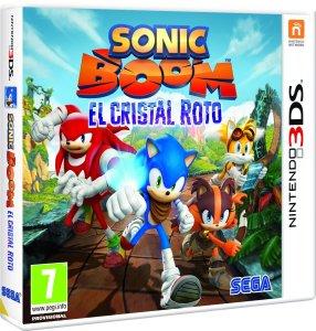 Sonic Boom El Cristal Roto portada PAL