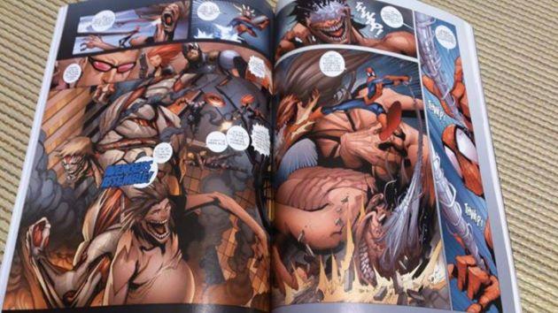 ataque titanes marvel 4