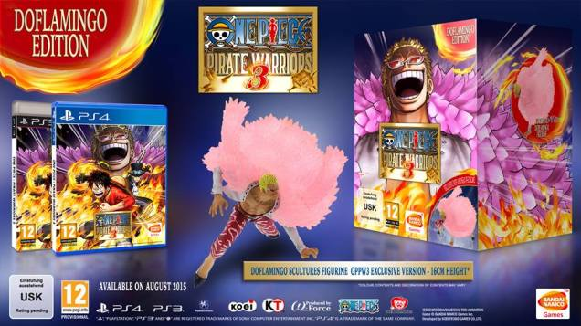 Doflamingo Edition One Piece Pirate Warriors 3