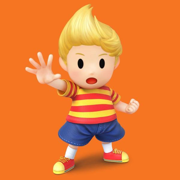 Lucas Smash Bros Wii U 3DS