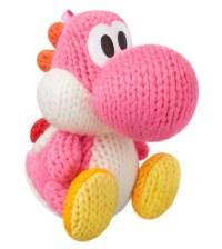 Yarn Yoshi Pink amiibo