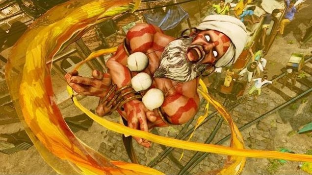 Dhalsim Street Fighter V