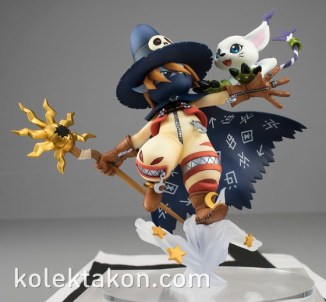 Wizardmon Gatomon figura GEM 2