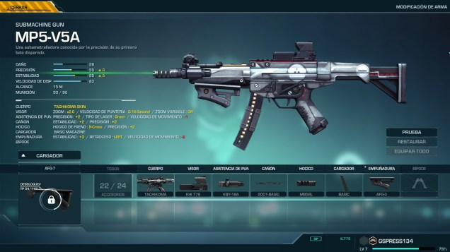 Ghost in the Shell SAC First Assault Online weapons