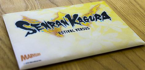 Senran Kagura Estival Versus card envelope