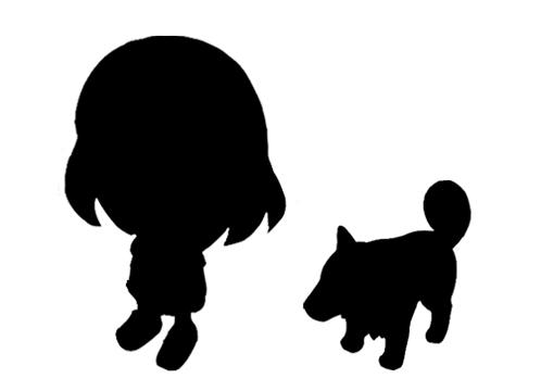 yomawari hermana perro